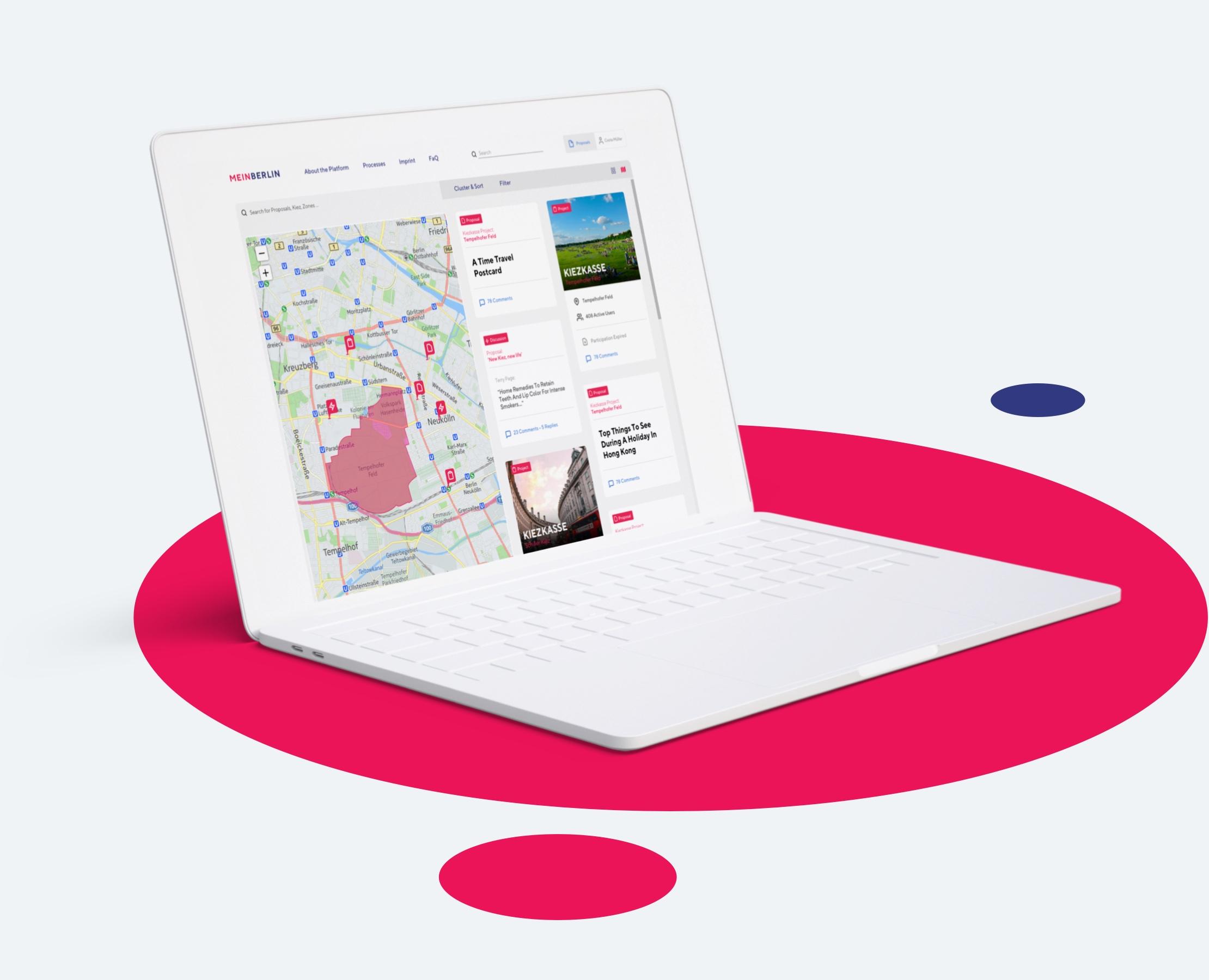 Adhocracy Software design by Manu Franco - UX