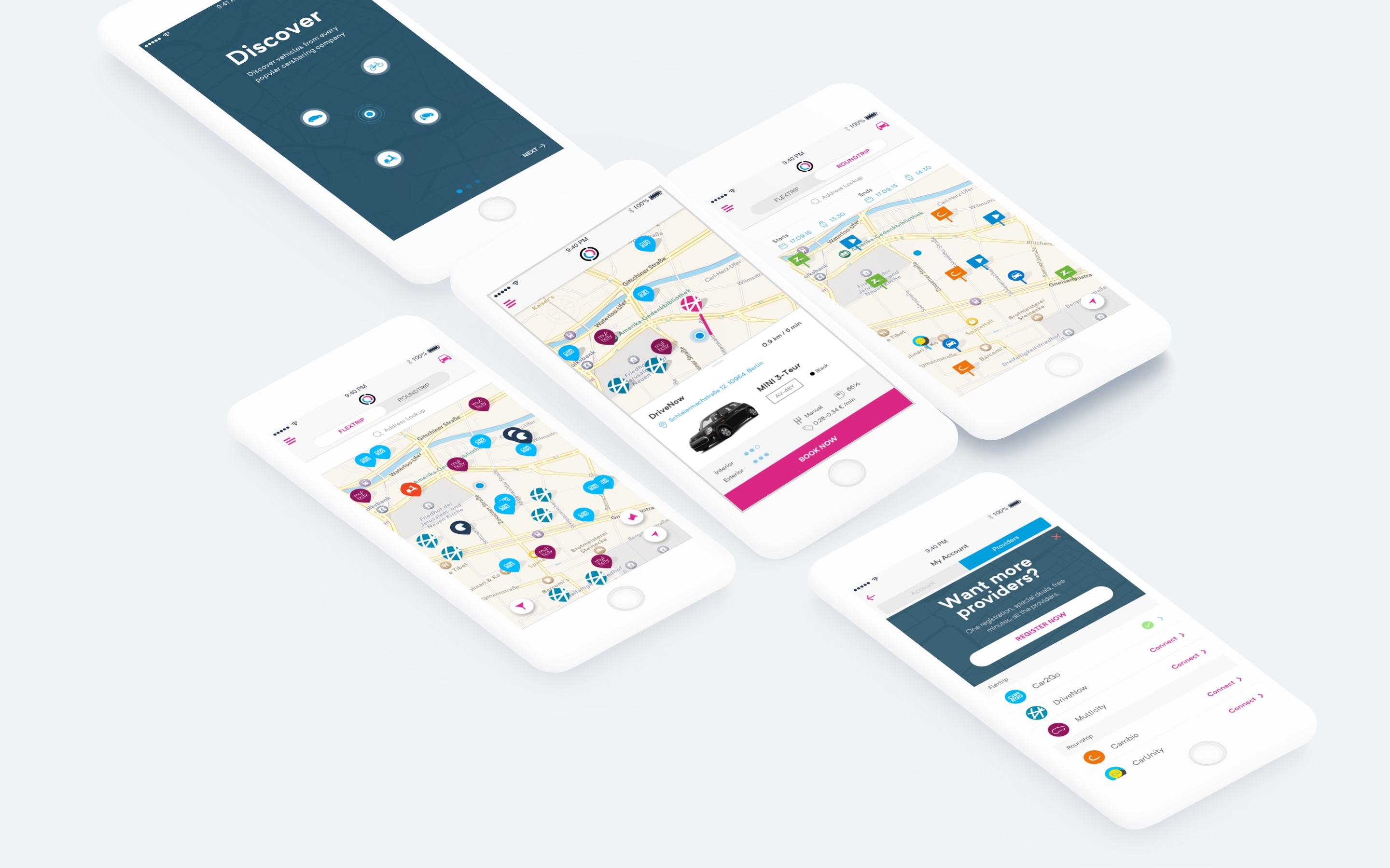 Free2Move design by Manu Franco-UX designer
