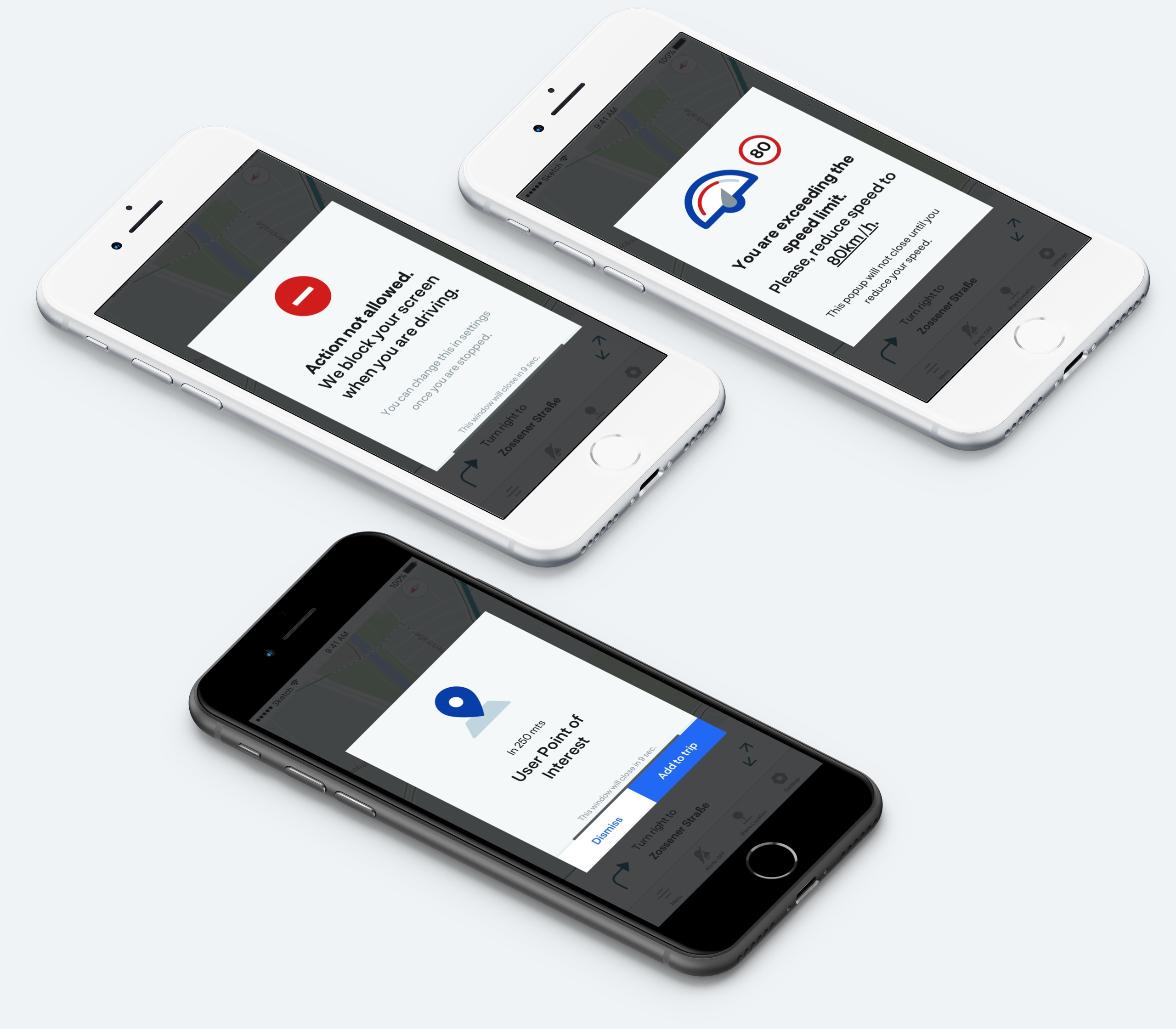 Sounddrive iOS app design by Manu Franco-UX