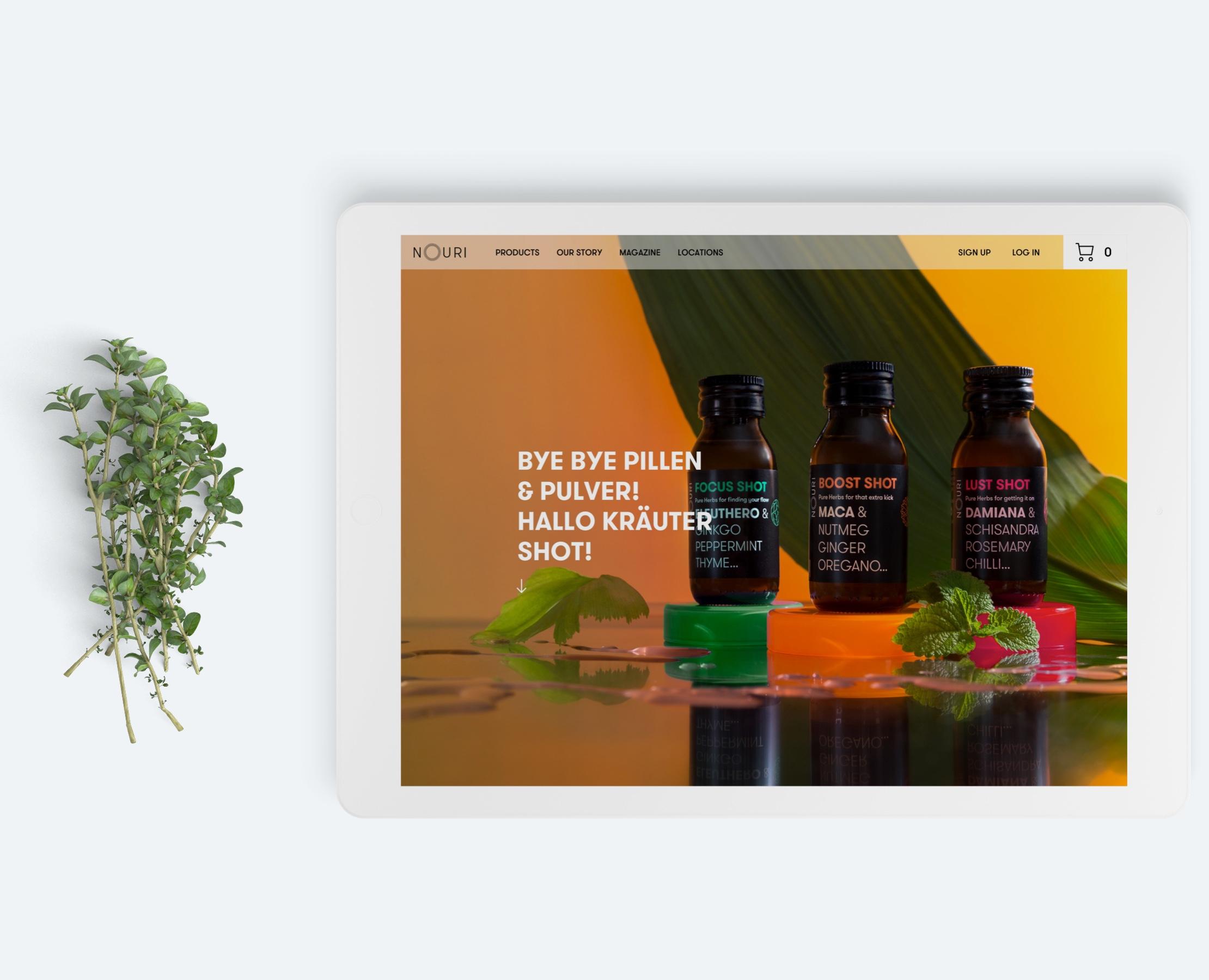 mynouri.com design by Manu Franco-UX designer