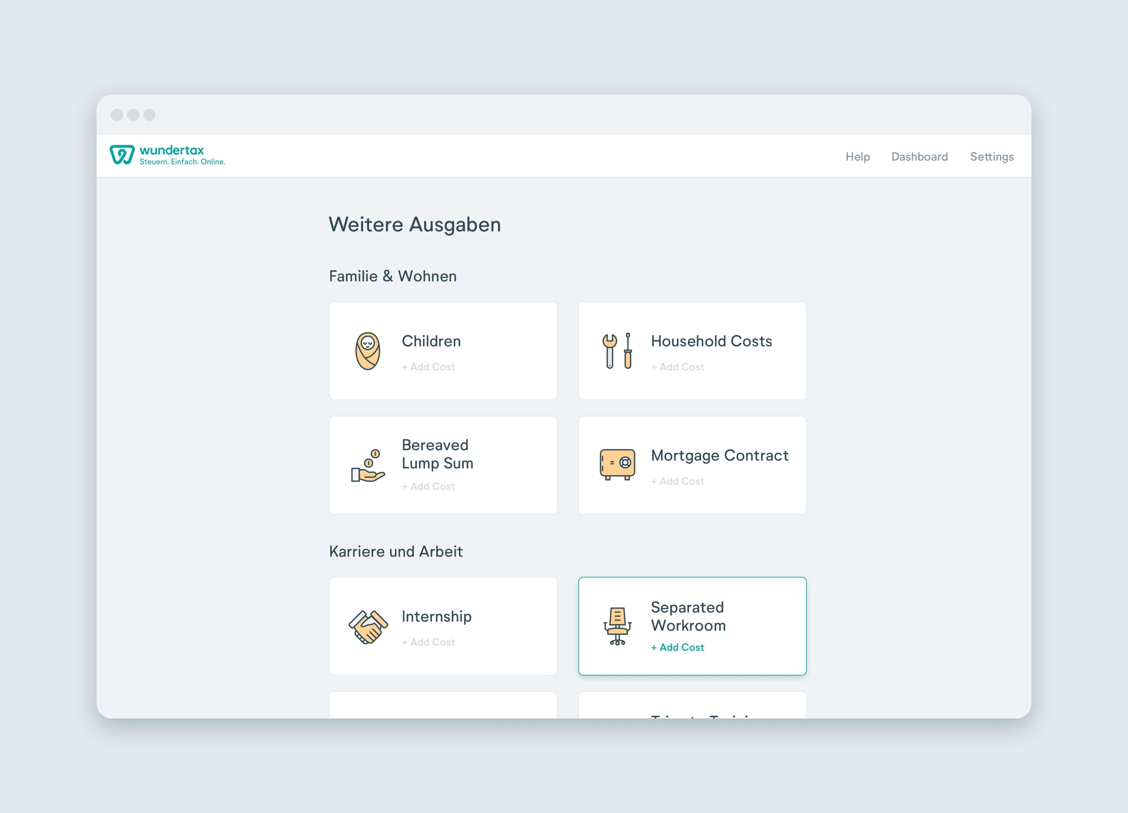 Wundertax design by Manu Franco-Product Designer
